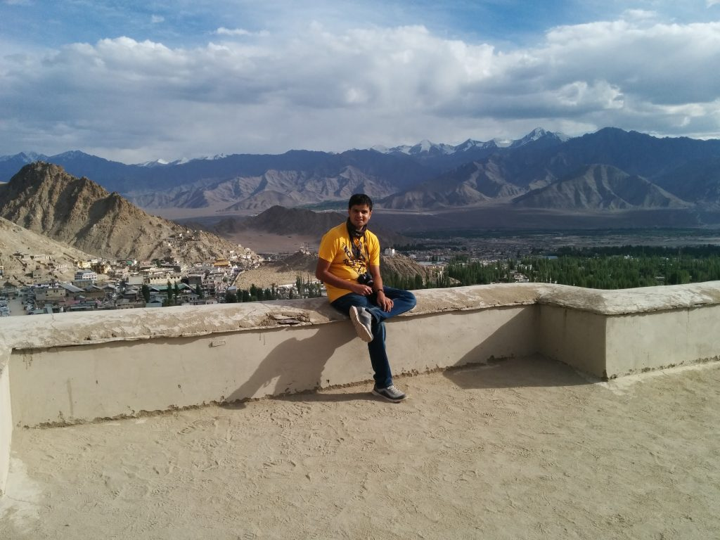 Leh Palace , Rooftop , terrace, Leh , Jammu and Kashmir