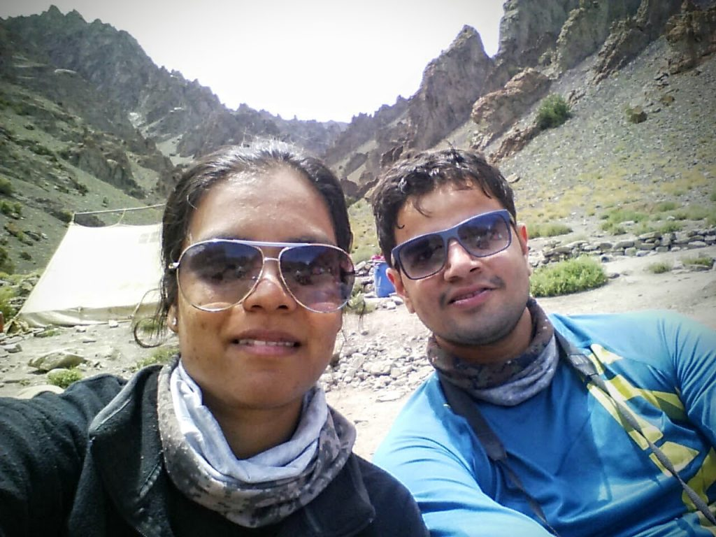 Stok Kangri Trek Changma Camp