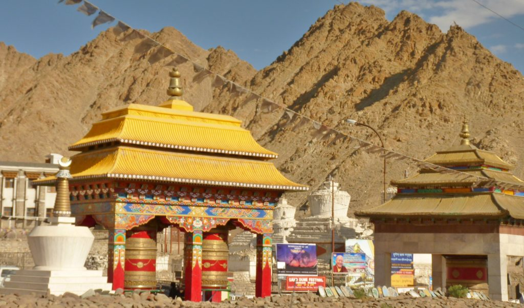 Prayer Wheels Leh