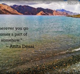 Travel quotes Shoebytes India