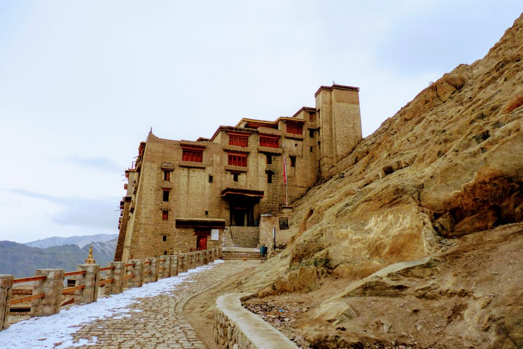 Leh Palace Winter